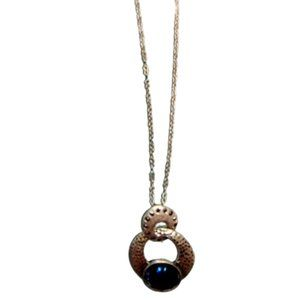 Lia Sophia Long Blue Crystal Kiam Family Necklace